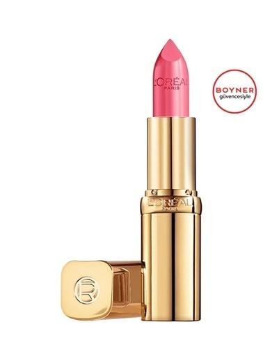 L'Oréal Paris Color Riche 143 Numaralı Saten Bitişli Ruj Pembe